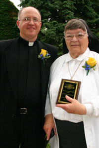 Sister Madeleine LeCompte was an alumni of St. Joseph's Indian School