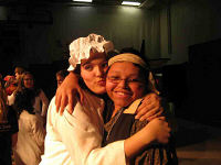 Chris and Erica in an earlier CHS production, the Pirates of Penzance.