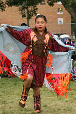Students at St. Joseph's learn about Lakota (Sioux) culture and heritage in addition to core subjects at school.