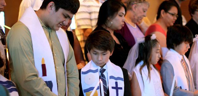 St. Joseph's welcomes children of all faiths.