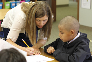 St. Joseph's children benefit from small class sizes and one-on-one attention.