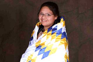 Lakota (Sioux) star quilt raffle