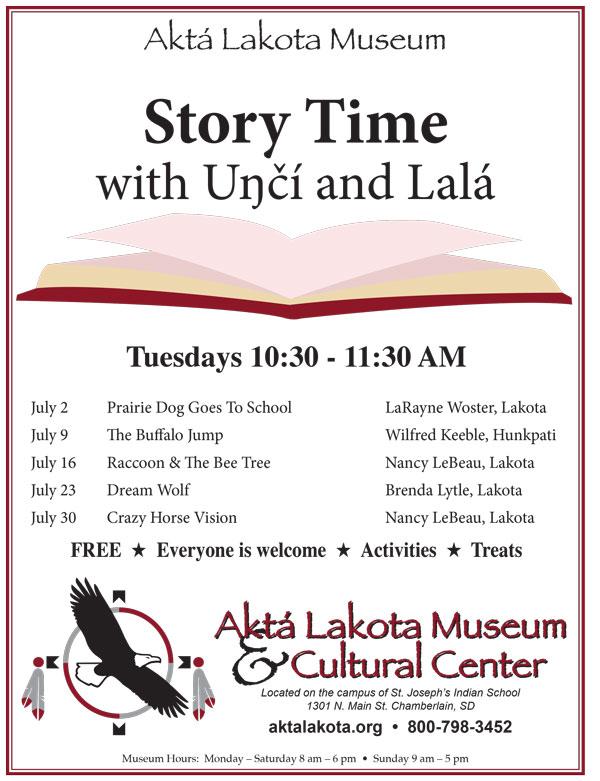 Story Time with Uŋčí and Lalá