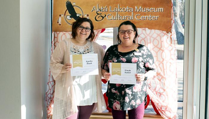 Museum Staff wins Awards