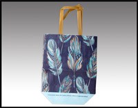 Click here for more information about Blue Feather Tote Bag - (010006)
