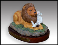 Click here for more information about Lion & Lamb Figurine