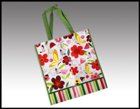 Click here for more information about Butterflies and Flowers Tote Bag - (010015)