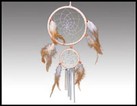 Click here for more information about Double Dreamcatcher Windchime