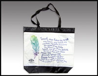 Click here for more information about Lakota Prayer Tote Bag - (010003)