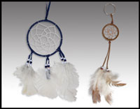 "Click here for more information about 4"" Dreamcatcher & Dreamcatcher Keychain"