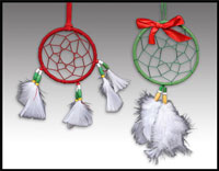 Click here for more information about Holiday Dreamcatchers