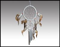 Click here for more information about Double Dreamcatcher with Chimes