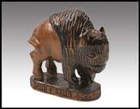 Click here for more information about Buffalo Sculpture