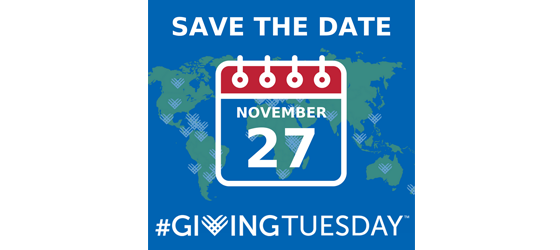 November 27 is #GivingTuesday!