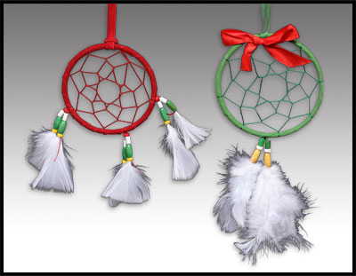 Holiday Dreamcatchers