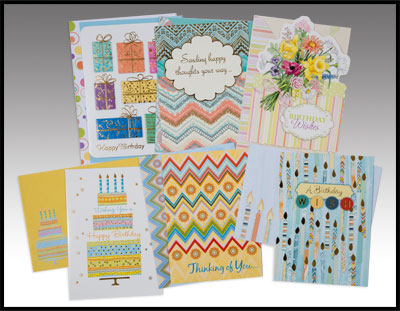 Greeting cards: 6 Pack All Occasion Cards