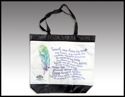 Lakota Prayer Tote Bag