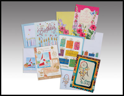 10 Pack of Birthday Cards