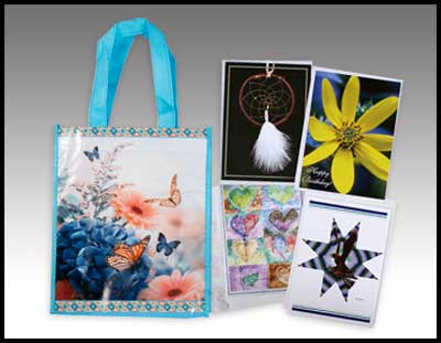Small Butterfly Bag and Cards