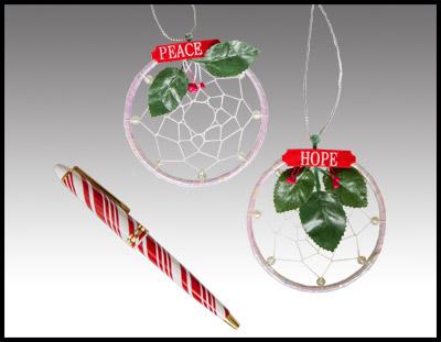 Peace & Hope Ornaments