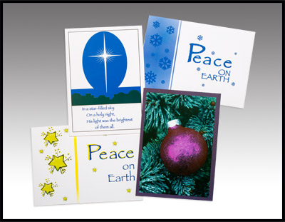 Stars and Peace Cards