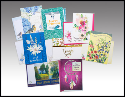 Assorted Large Card Pack