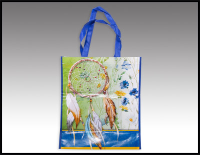 Dreamcatcher and Flowers Tote